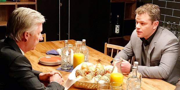 Shakira, Matt Damon, Forest Whitaker: les belles rencontres de Philippe et Mathilde à Davos - La DH