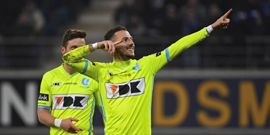 Gand bat Charleroi et lui chipe sa place dans le Top 6 (1-0)