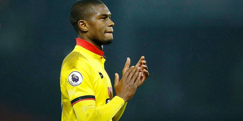Watford's Christian Kabasele after the game