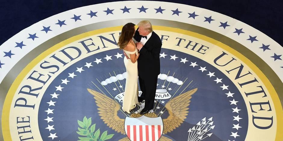 La danse de Donald et de Melania Trump (Video)
