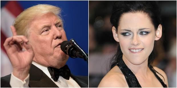 """Donald Trump était """"complètement obsédé par moi"""", affirme l'actrice Kristen Stewart - La DH"""
