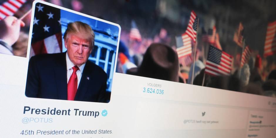 "Trump assure qu'il ""n'aime pas tweeter"""