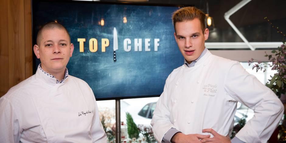 Maximilien et Julien: deux Belges au caractère bien trempé à Top Chef (VIDEO)