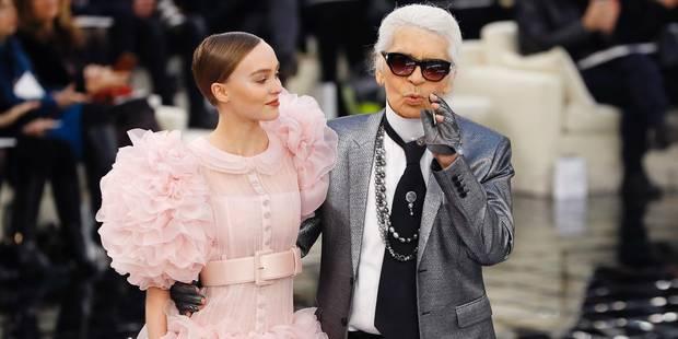 Lily-Rose Depp a fait sensation en robe de mariée pour Chanel - La DH