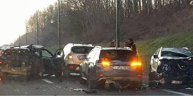 Anderlues: triple accident sur la Nationale 54 - La DH