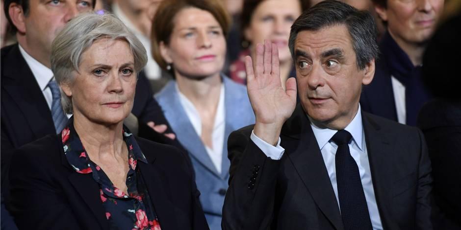 """Le Canard enchainé: """"La pire accusatrice, c'est madame Fillon elle-même"""""""