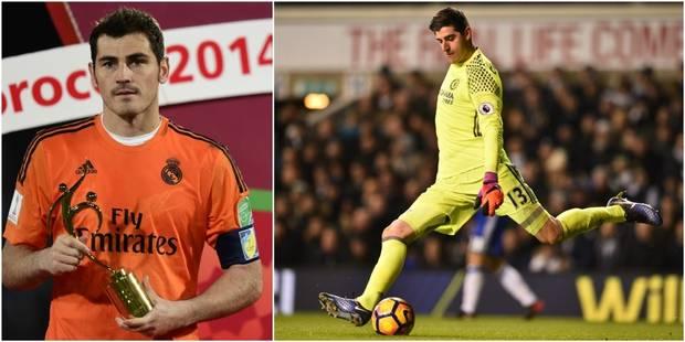 """Casillas: """"Courtois serait un super gardien pour le Real Madrid"""" - La DH"""