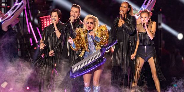 Découvrez le show de Lady Gaga au Super Bowl (VIDEO) - La DH