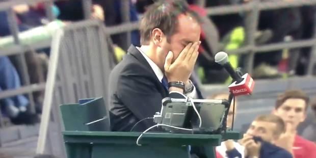 Shapovalov envoie une balle dans le visage de l'arbitre de chaise (VIDEO) - La DH