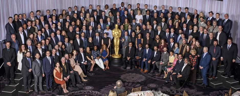 Une photo réussie malgré les quelque 160 sourires à immortaliser en même temps ! Mais où est Ryan Gosling ?