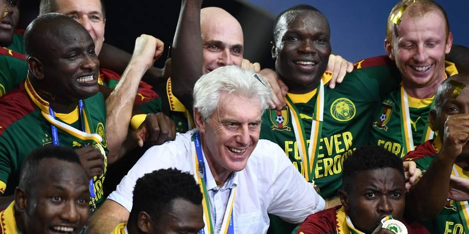 """Hugo Broos, vainqueur de la Can avec le Cameroun: """"Une chanteuse m'a demandé en mariage"""""""