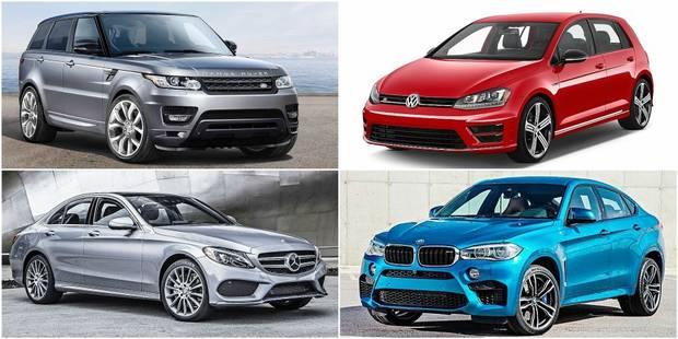 Voici les voitures les plus prisées par les voleurs en Belgique - La DH