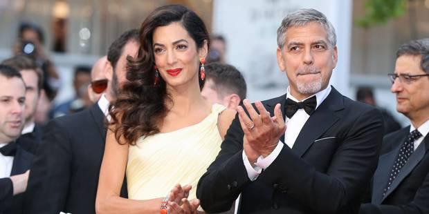 C'est officiel : Amal Clooney est enceinte de jumeaux - La DH