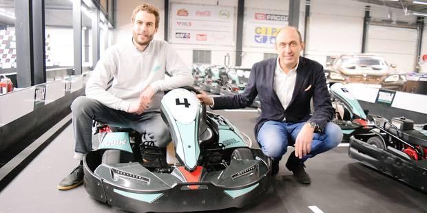 Inauguration du karting de Wavre : vivez un tour de circuit en caméra embarquée (vidéo) - La DH