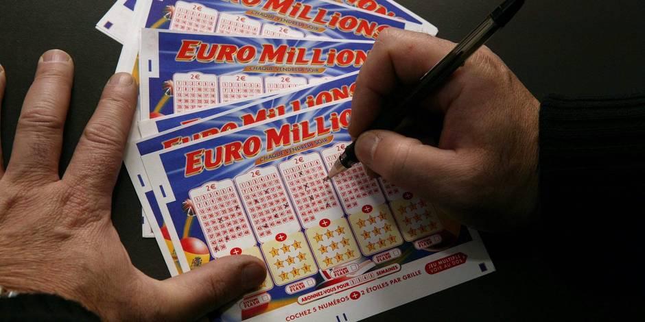 Un Belge remporte 23,5 millions à l'Euromillions