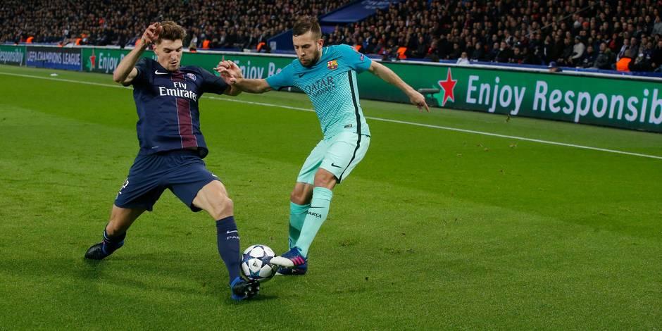 Meunier ou le joueur au-dessus de tous physiquement face au Barça (CHIFFRES)