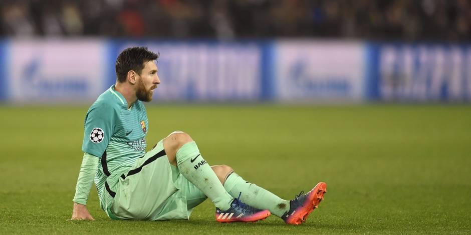 Après la déroute au PSG, voici la liste des joueurs que Messi veut voir quitter le Barça