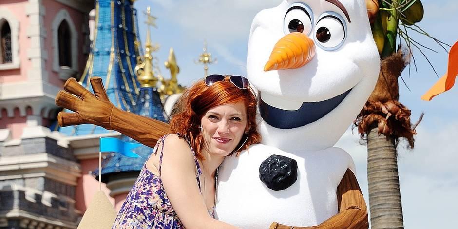Celebs at La Fete Givree in Disneyland Paris