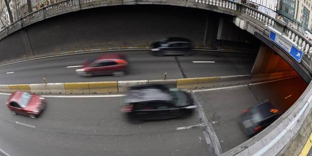Le tunnel Rogier à Bruxelles fermé dans les deux sens de circulation - La DH