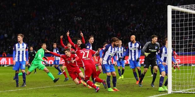 Bundesliga: le Bayern se sauve encore dans le temps additionnel - La DH