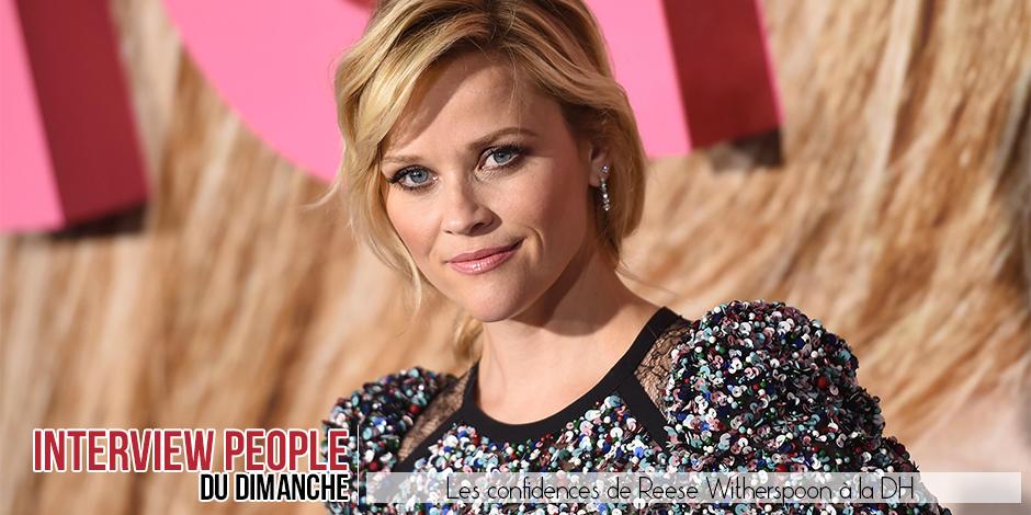 """Reese Witherspoon: """"Dans ma famille, les femmes n'ont jamais été des potiches !"""" - La DH"""