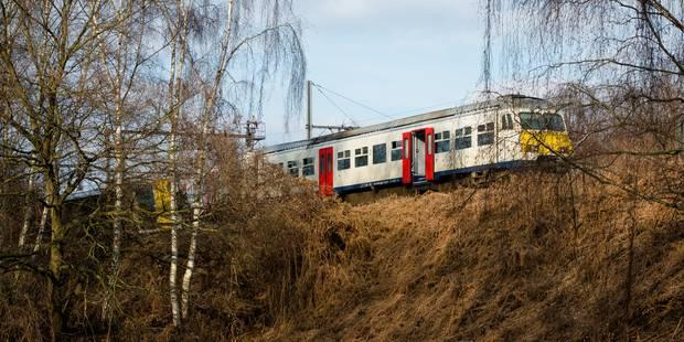 Déraillement d'un train à Louvain: De nouvelles voies disponibles en gare de Louvain pour les trains de et vers Bruxelle...