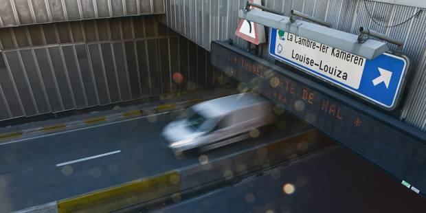 Bruxelles: perturbations attendues dès lundi prochain avec le lancement des travaux du tunnel Porte de Hal - La DH