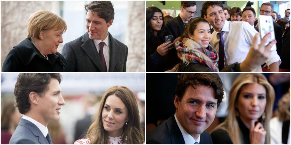 Justin Trudeau, l'homme qui les fait toutes craquer
