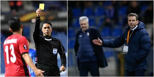"""L'entraîneur de l'Astra Giurgiu en colère sur le choix de l'arbitre: """"il était de la même nationalité que le coach de Ge..."""