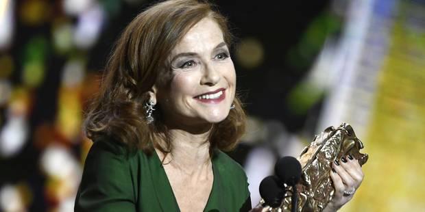 Divines, Juste la fin du monde et Isabelle Huppert triomphent aux César - La DH
