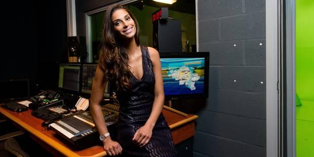 """Tatiana Silva """"la gorge nouée"""" pour sa dernière météo - La DH"""
