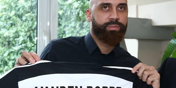 Vanden Borre a signé un contrat au mois - La DH