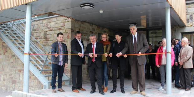 """La """"Maison du Parc"""" inaugurée à Vielsalm"""