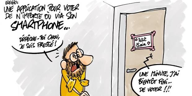 Wavre: Une application pour voter à domicile! - La DH