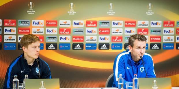 Europa League: le coach de Genk se méfie des surprises de Vanhaezebrouck - La DH