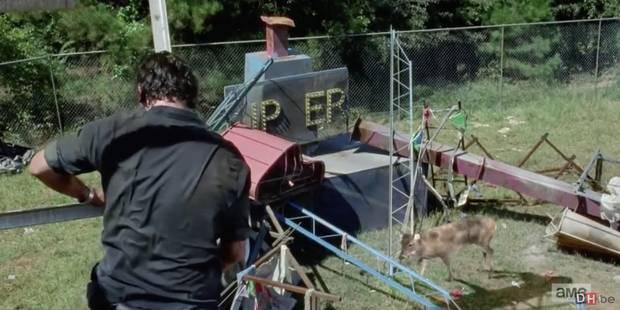 Une biche défraie la chronique dans The Walking Dead (SPOIL) - La DH