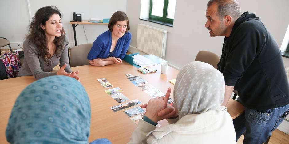 vincent vanhalewyn echevin schaerbeek centre VIA bureau d'accueil pour les primo-arrivants