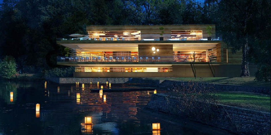 L'hôtel flottant sur la Meuse, première en Europe!