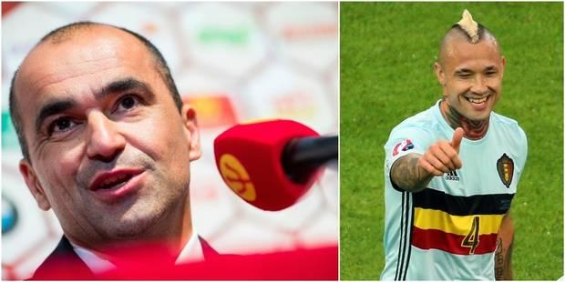 Martinez a dévoilé sa sélection: Nainggolan est bien repris! - La DH