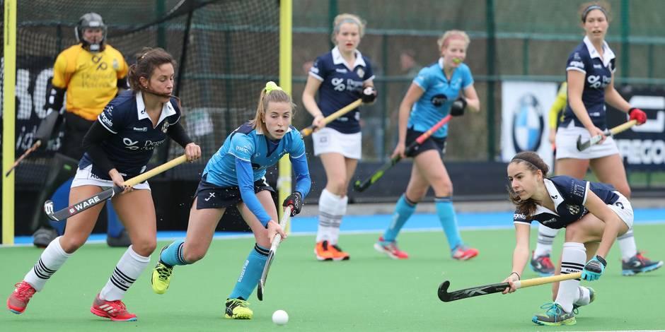 Hockey championnat dames: la Gantoise surclasse le Braxgata (VIDÉOS)