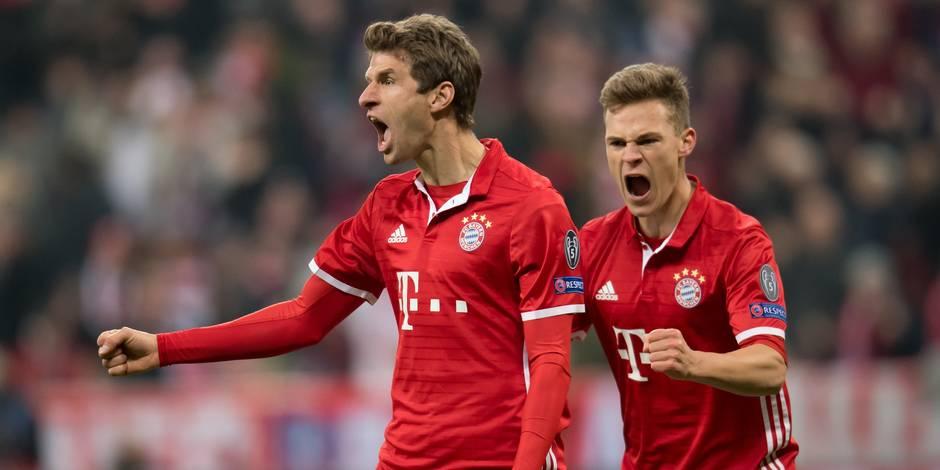 Le Bayern contient 'Gladbach — Bundesliga