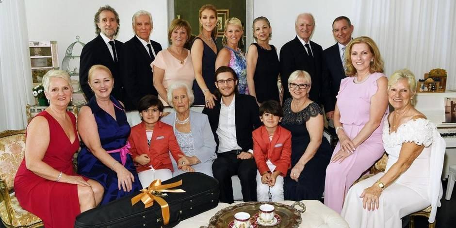 Céline Dion : photo de famille pour célébrer les 90 ans de sa maman