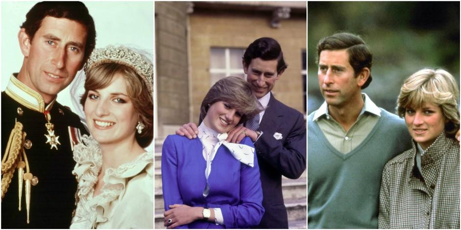 Quelque chose cloche sur ces photos de Charles et Diana