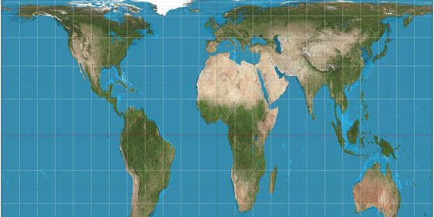 Carte Du Monde Realiste.A Boston Les Ecoles Changent De Vision En Adoptant Une Nouvelle