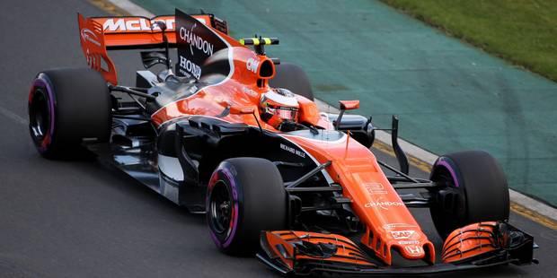 """GP d'Australie : Vandoorne (18e) : """" Dur de se qualifier en un seul tour ! """""""