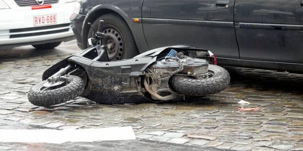 Scooter renversé à On: le passager de 12 ans est décédé à l'hôpital