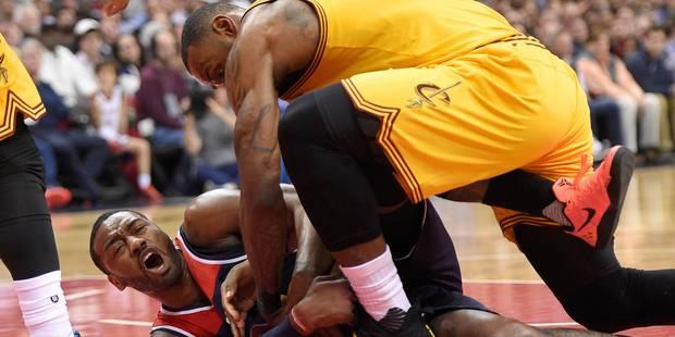 NBA: Cleveland perd encore, face à Washington cette fois!