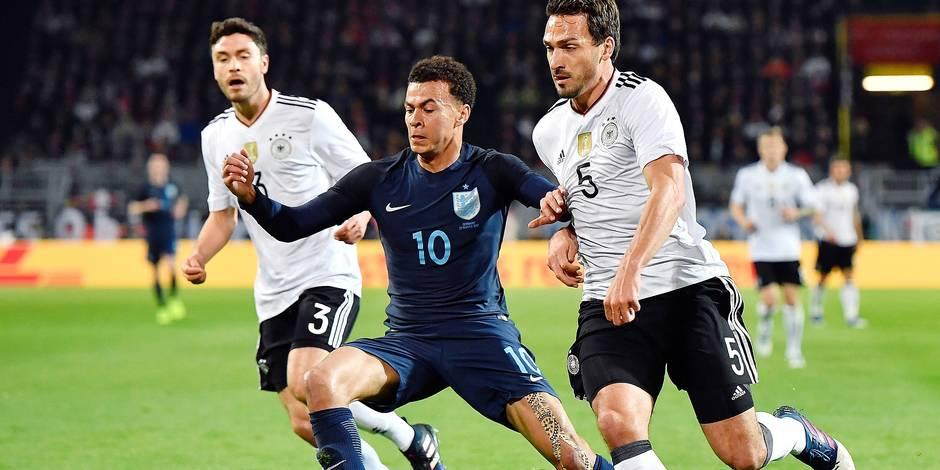 Mondial 2018: l'Allemagne et l'Angleterre assurent et creusent l'écart dans leur poule
