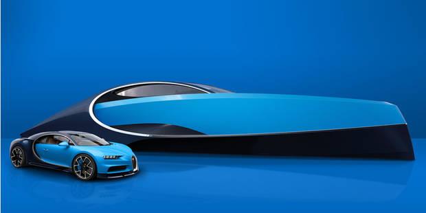 Un yacht inspiré par Bugatti - La DH