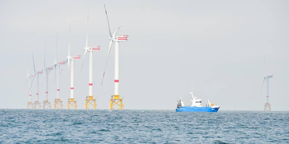 L'industrie belge de l'éolien en mer pourrait créer 16.000 emplois